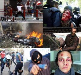 Resultado de imagem para violencia no mundo